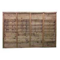 Waney lap panel 1.2m