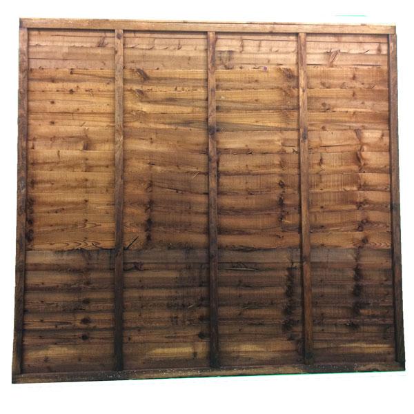 Waney lap panel 1.65m