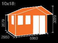 10X18-Forde log cabin