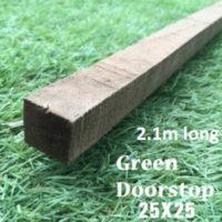 2.1m green doorstop