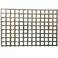 Fine sawn square trellis 1.2m