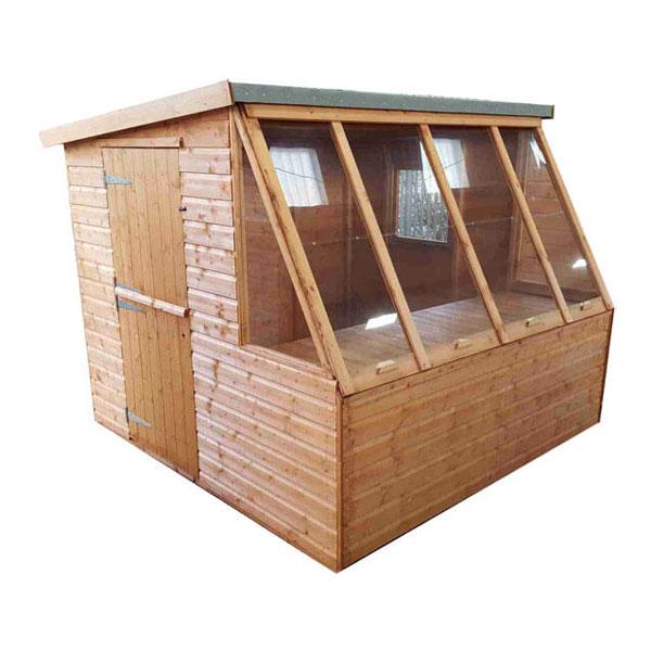 Dual-potting-shed