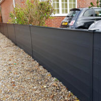 durapost gravel board brown