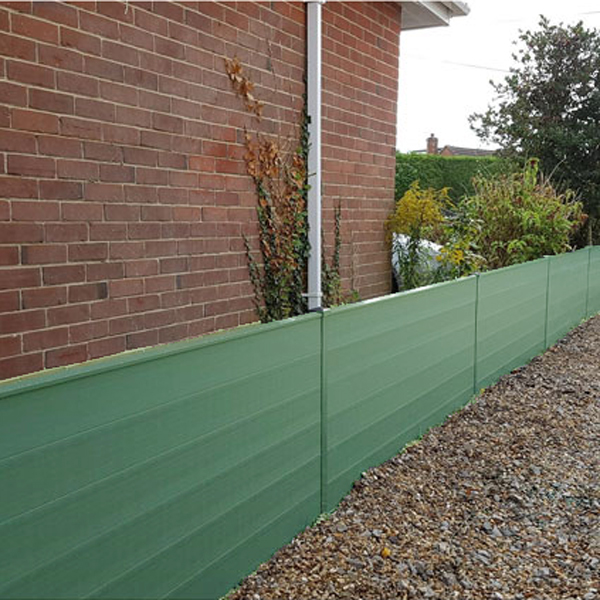 durapost gravel board green