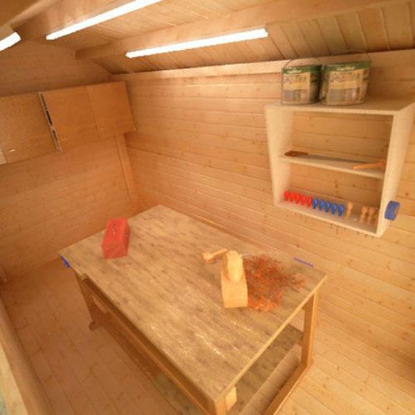 Aldford Barn - Interior