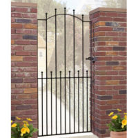 Manor bow top tall gate