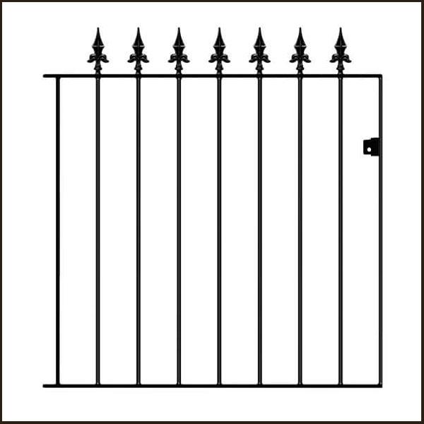 Saxon-small-gate SAZP05/3