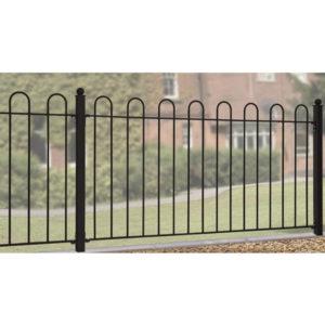 Court hoop panel