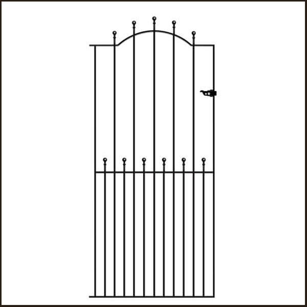 manor-tall gate MAZP32