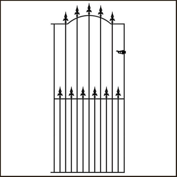 saxon-tall-gate SAZP32