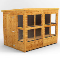 Potting pent shed 2.4m x 1.8m