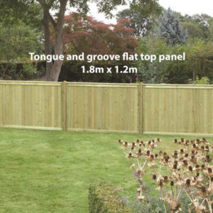 Tongue and groove flat 1.2