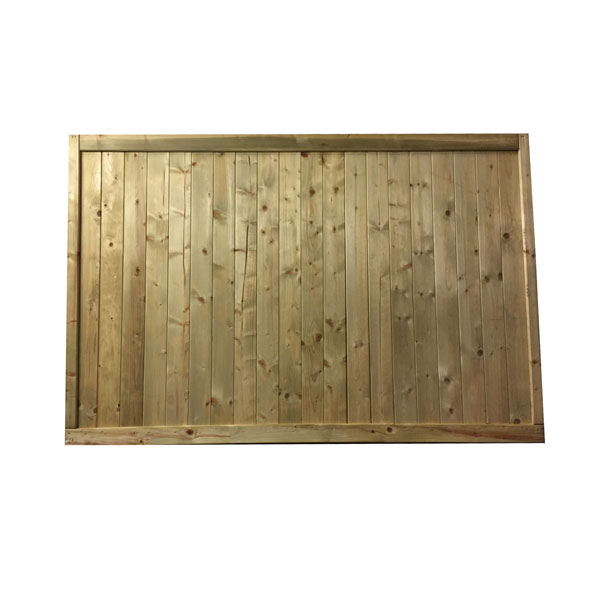 Tongue and groove flat panel 1.8m x 1.2m