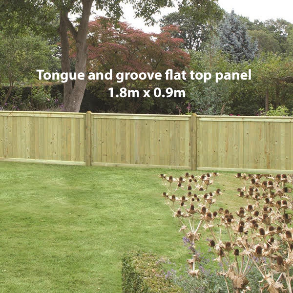 Tongue and groove flat 0.9