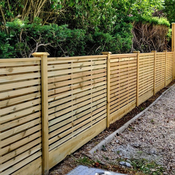 contemporary fence 0.9m
