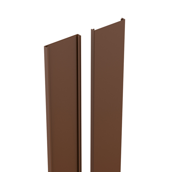 durapost cover strip sepia brown