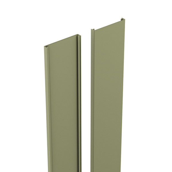 durapost cover strip olive grey