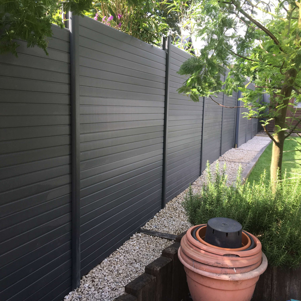 Composite fencing graphite