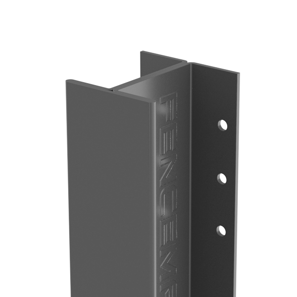 Anthracite grey durapost post