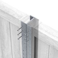 Durapost inter galvanised