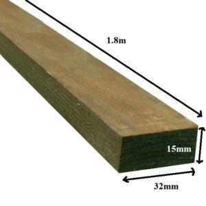 Trellis batten 1.8m