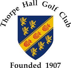 Thorpe hall golf course logo