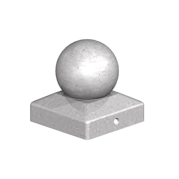 metal ball finial