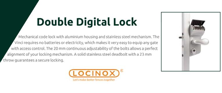 Double digital lock