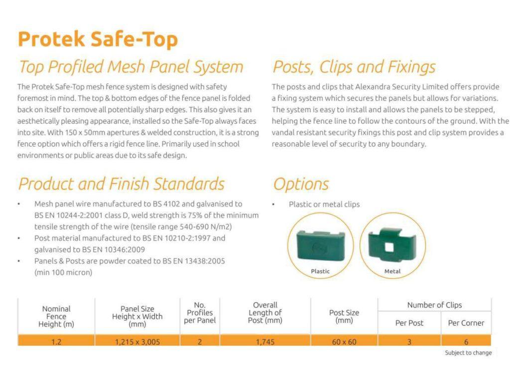 Protek Safe-top