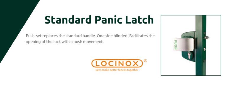 Standard panic latch