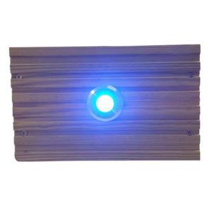 BLUE SML DECK LIGHT LENSE