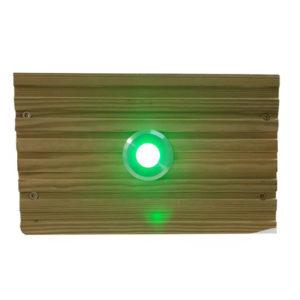 GREEN SML DECK LIGHT