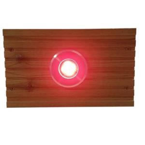 RED LRG DECK LIGHT LENSE