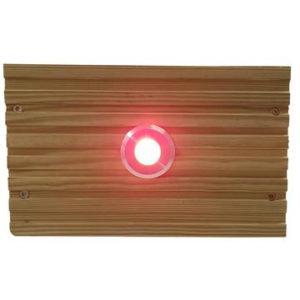RED SML DECK LIGHT
